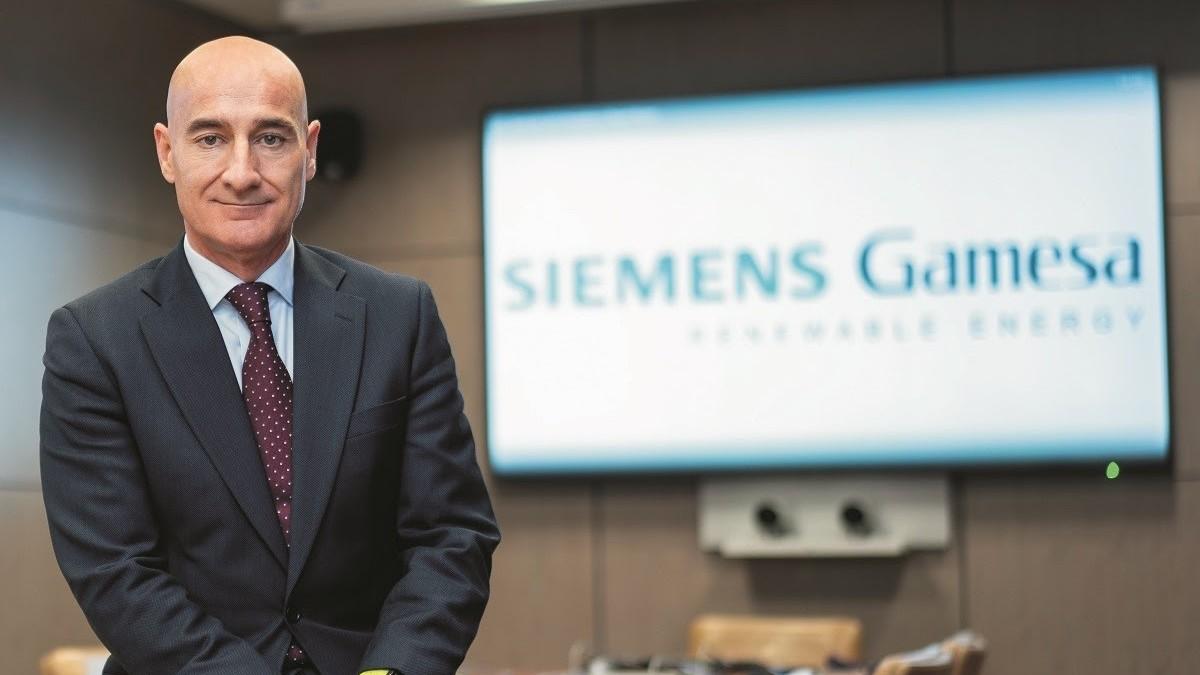 Enrique Pedrosa, ex director general para España de Siemens Gamesa