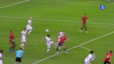 El penalti no pitado sobre Olmo en el España – Alemania.