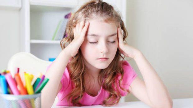 dolor cabeza niños
