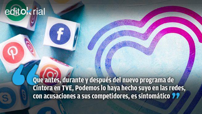 Podemos, «community manager» de Cintora