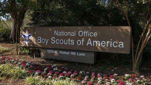 La oficina nacional de los Boy Scouts de América