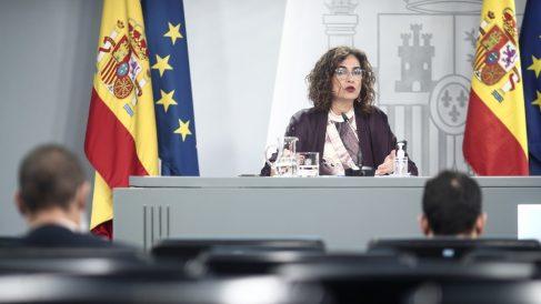 La ministra Portavoz y de Hacienda, María Jesús Montero – Europa Press/E. Parra.