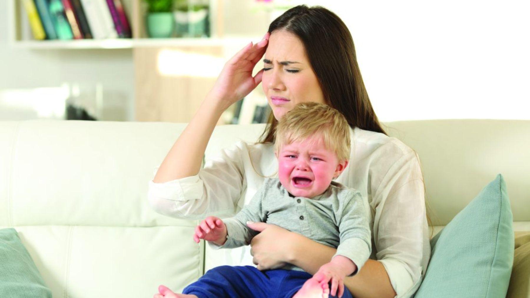 Descubre las casusas y cómo aliviar los nervios del bebé
