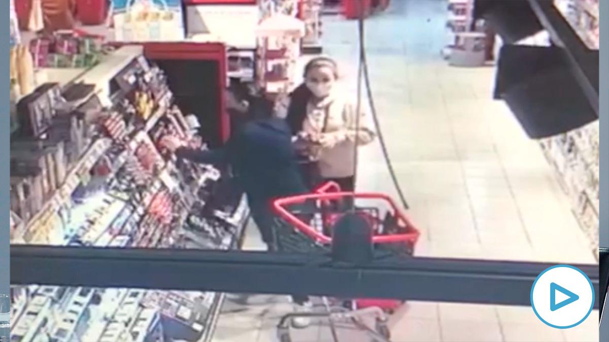 Ladronas supermercado