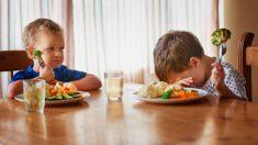Cómo conseguir que los niños pequeños coman verduras