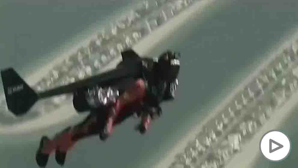 Muere el «hombre pájaro» durante un entrenamiento