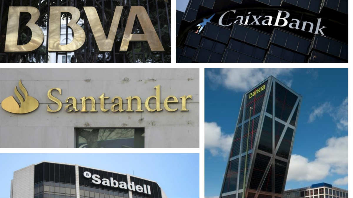 BBVA, Santander, Sabadell, Bankia y Caixabank