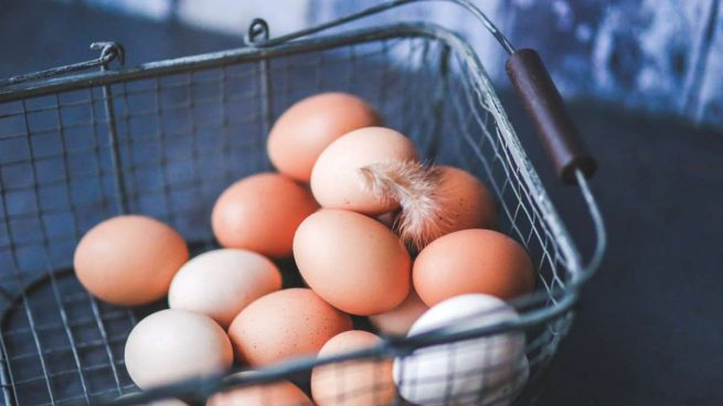 congelar huevos