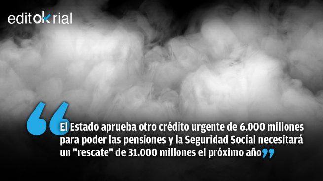 Sánchez vende humo mientras la Seguridad Social agoniza