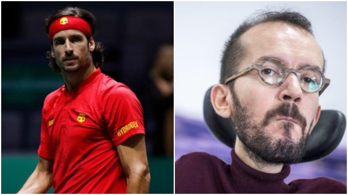 Feliciano López y Pablo Echenique.