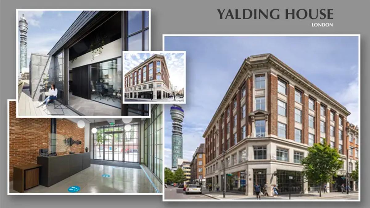 Edificio de oficinas que Mapfre ha comprado a British Land en el barrio londinense de Fitzrovia (antigua sede de la BBC en Londres).