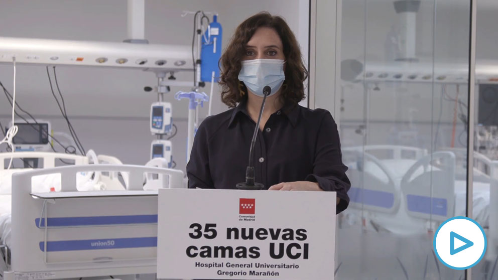 Isabel Díaz Ayuso, presidenta de la Comunidad de Madrid. copia