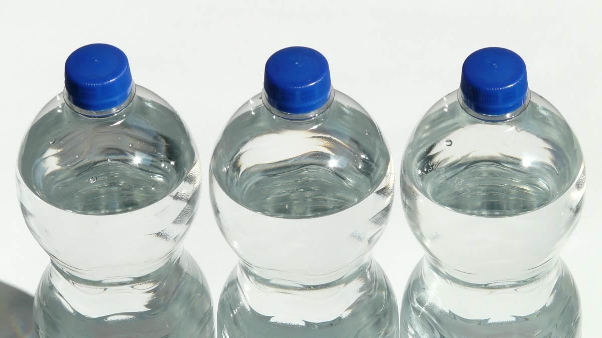Hábitos con las botellas de agua