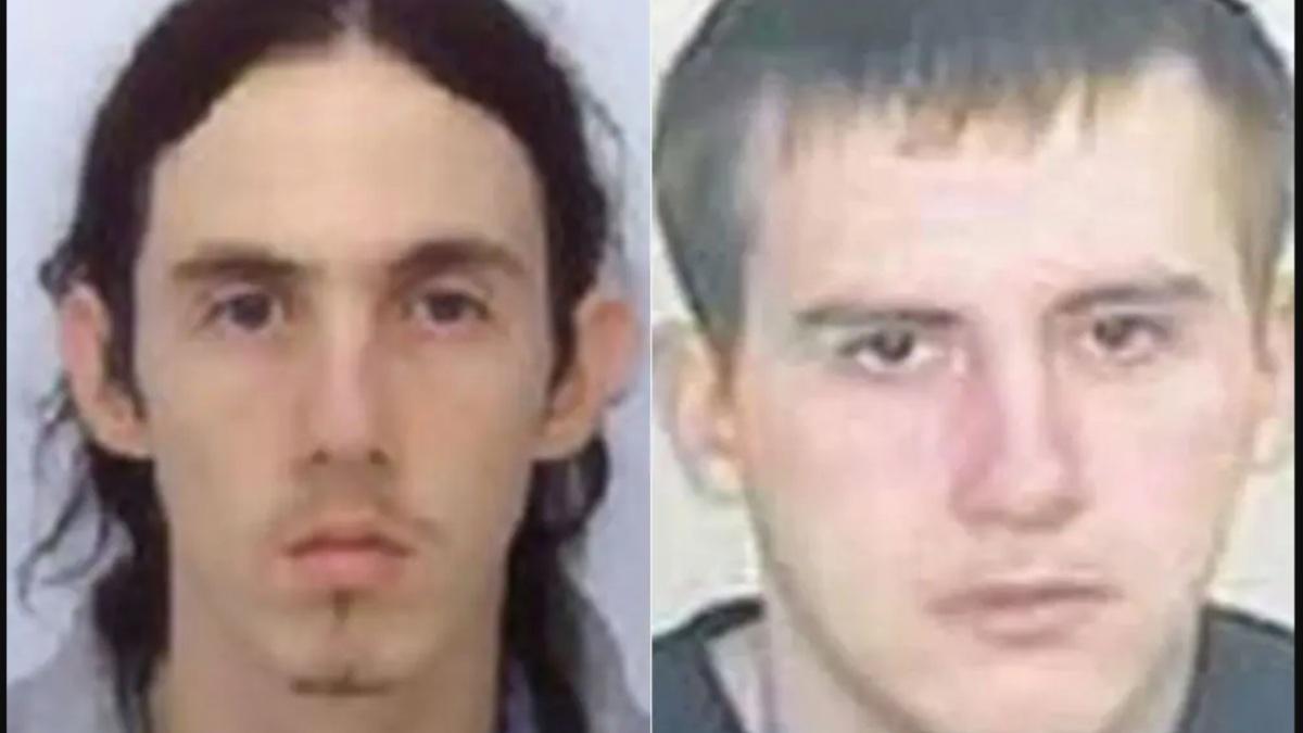 A la derecha Richard Huckle y a la derecha su asesino, Paul Fitzgerald