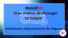 GP de Portugal de MotoGP 2020: Horario y cómo ver por televisión el Gran Premio de Portugal de MotoGP.