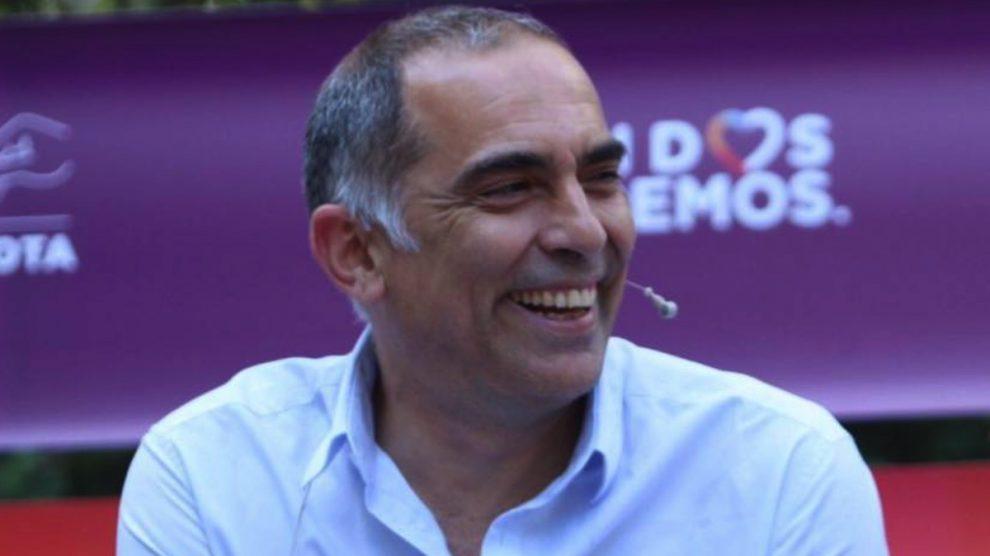 Ariel Jerez, cabeza de lista de Podemos en Guadalajara.