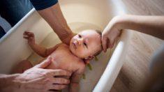 Descubre como garantizar la seguridad a la hora de bañar al bebé