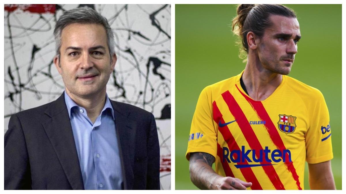 El precandidato Víctor Font critica el fichaje de Antoine Griezmann.