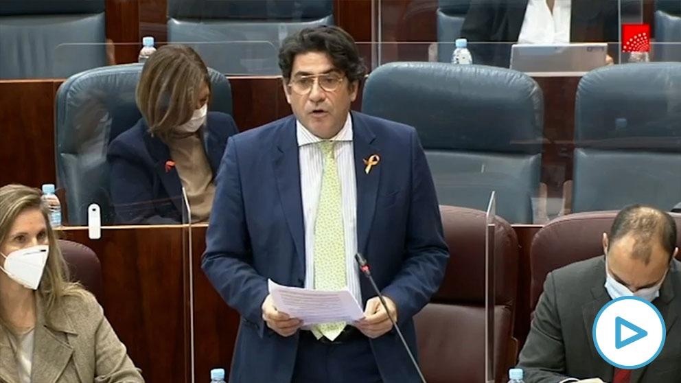 David Pérez carga contra el apoyo de Bildu a los presupuestos: «Son indignos y desleales con España».