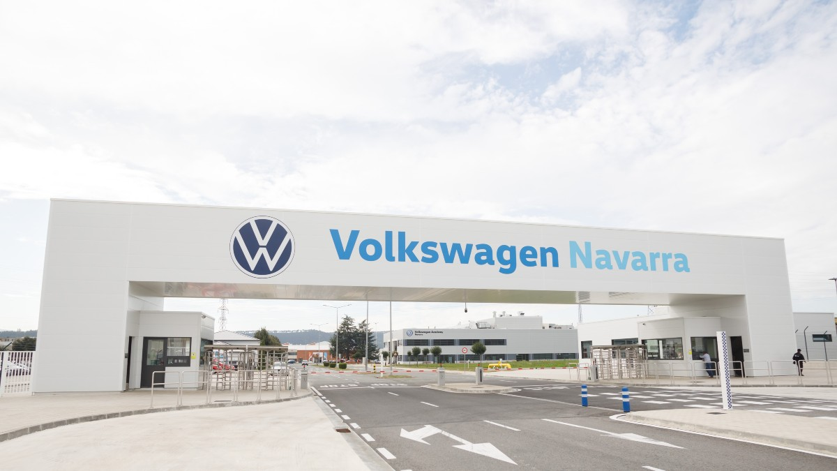 Planta de Volkswagen Navarra en Landaben.