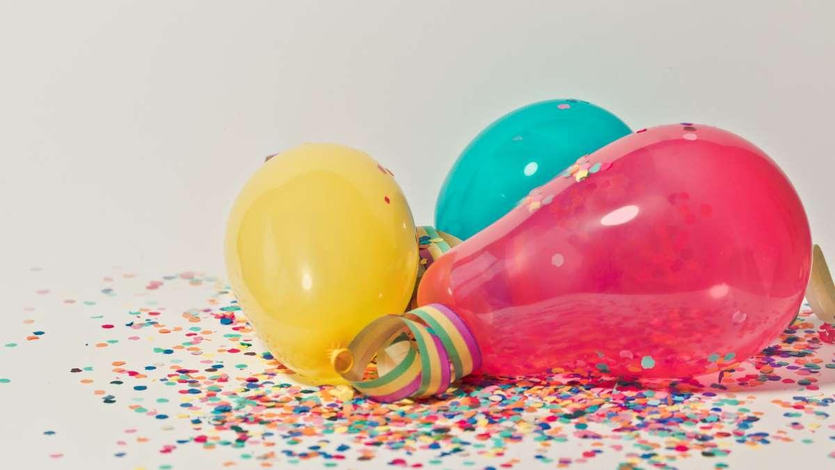 No siempre se tiene helio para poder inflar los globos