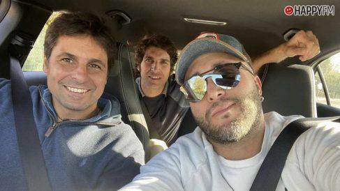 Kiko Rivera junto a sus hermanos