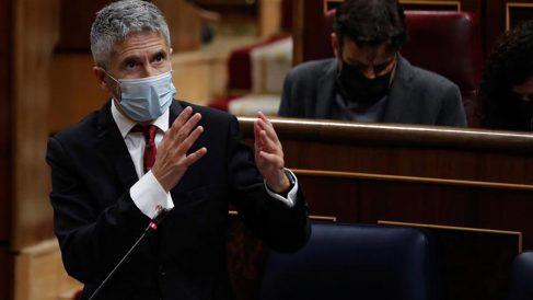 El ministro del Interior, Fernando Grande-Marlaska. Foto: EFE