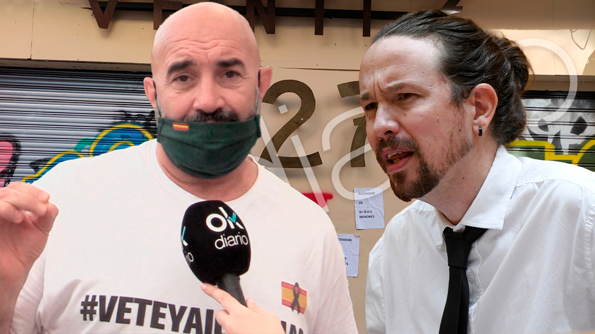 Miguel Frontera y Pablo Iglesias