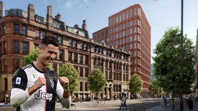 Cristiano Ronaldo y el hotel de Manchester.