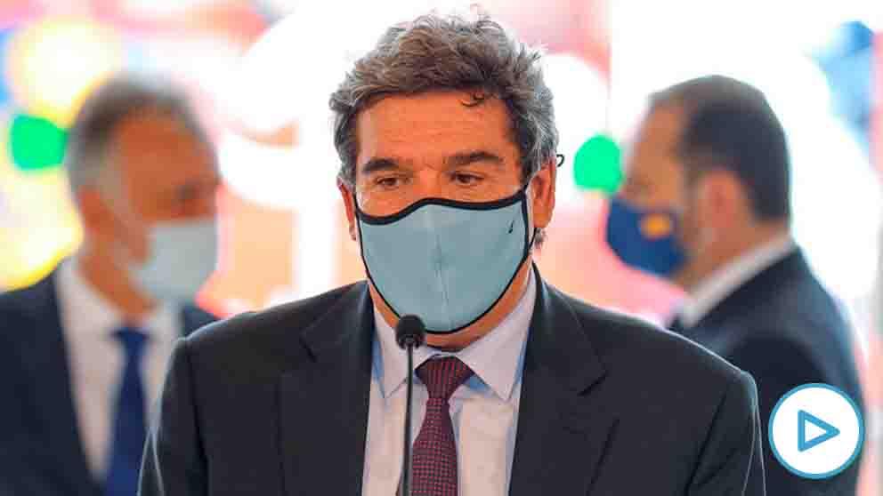 El ministro José Luis Escrivá durante su comparecencia en Canarias