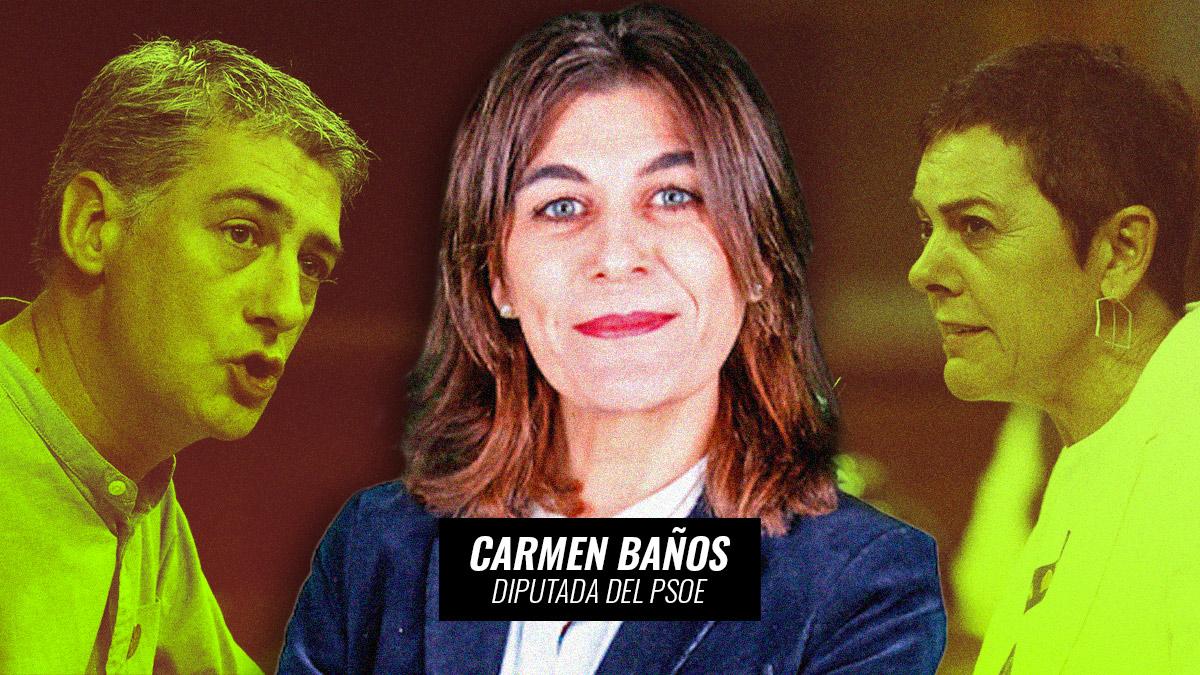 Carmen Baños, diputada del PSOE.