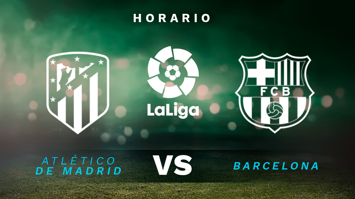 Atlético de Madrid – Barcelona: jornada 10 de Liga Santander.