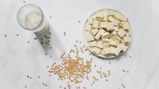 Buñuelos de calabacín y tofu