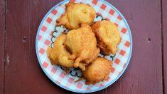 Receta de Buñuelos de calabacín y tofu