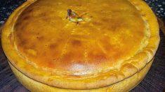 Receta de pastel ruso de salmón