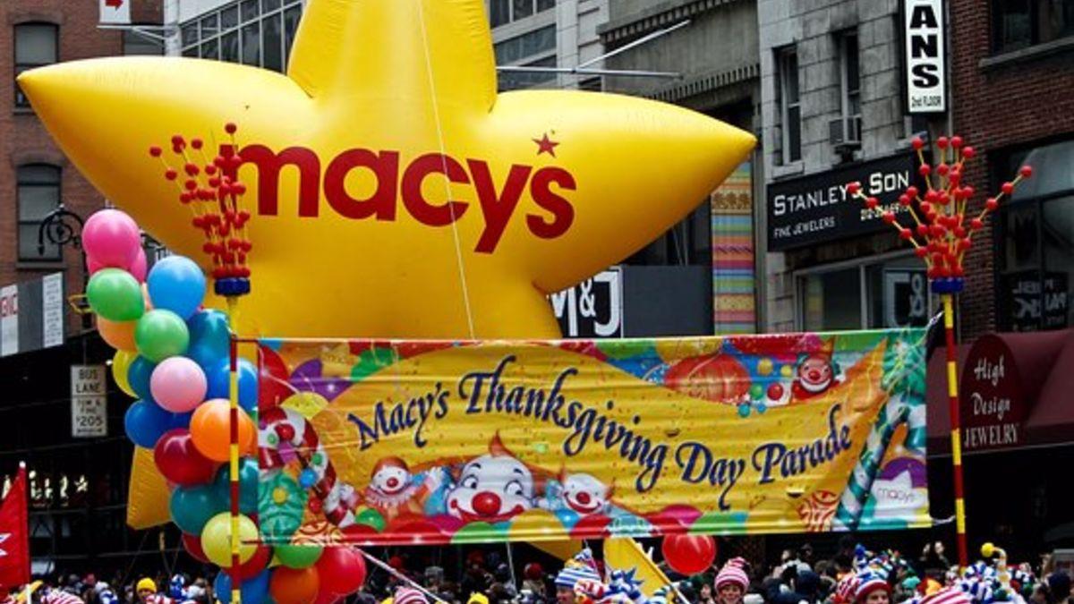 El 27 de noviembre de 1924 se celebra el primer desfile de Macy´s por Acción de Gracias
