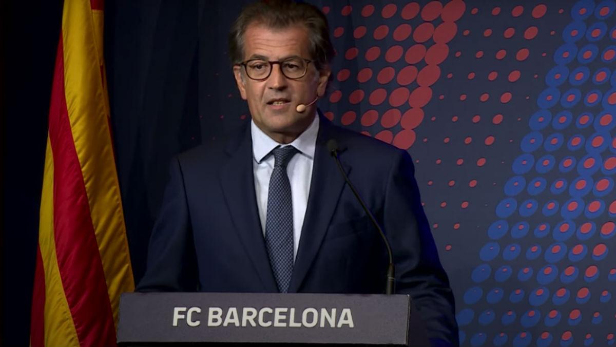 El candidato a la presidencia del Barça Antoni Freixa.