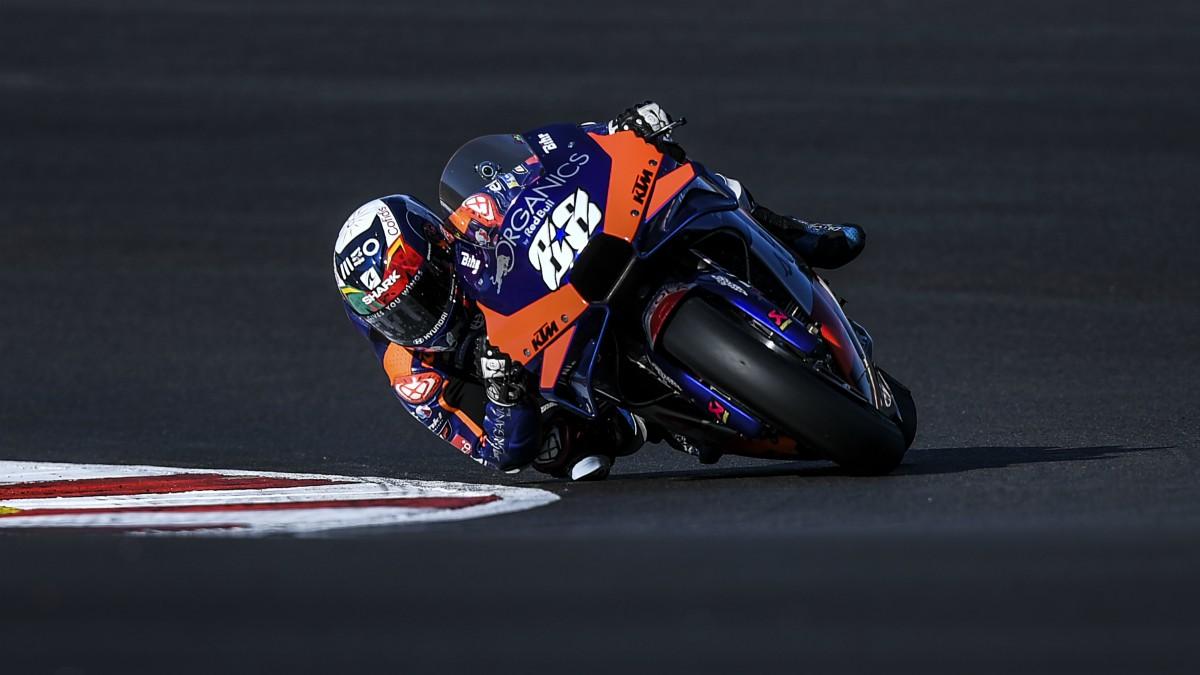 Miguel Oliveira, pole en el GP de Portugal de MotoGP. (AFP)