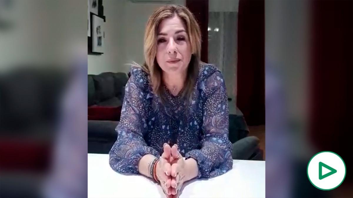 Rocío, la dueña de la zapatería de Carmona (Sevilla) que se hizo viral, pide a Sánchez que la escuche.