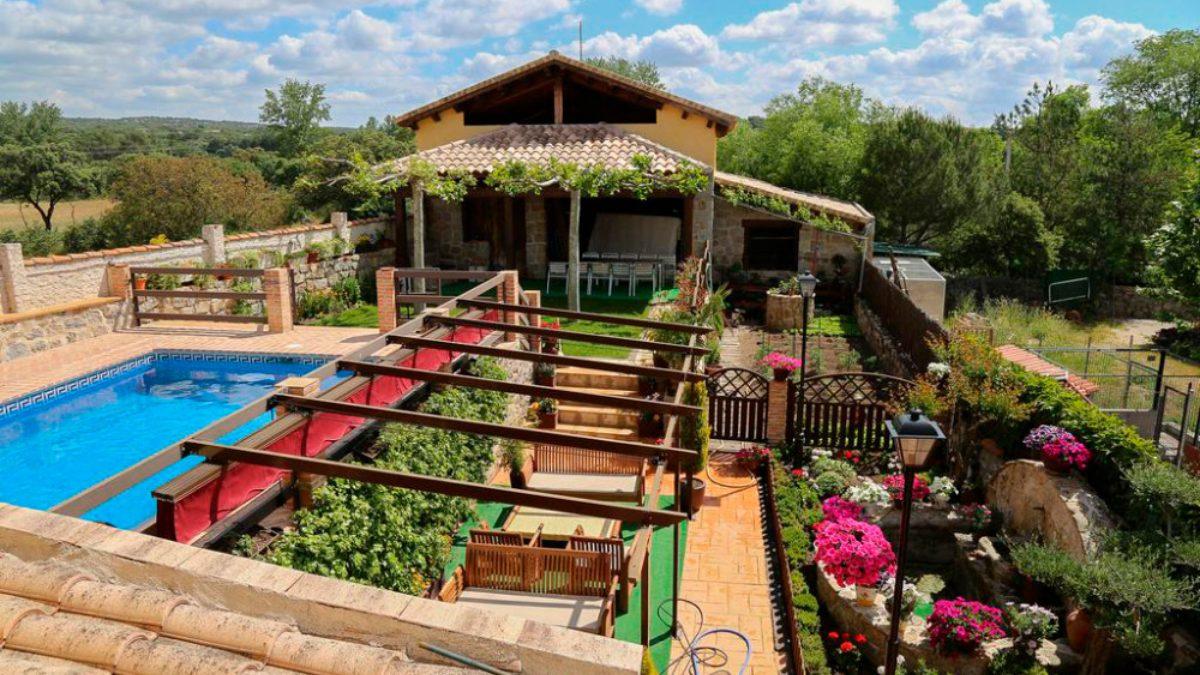 Casa rurales en la sierra de Madrid