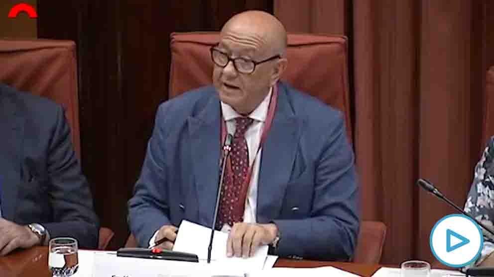 El comisario jubilado Marcelino Martín Blas, ex jefe de la Unidad de Asuntos Internos (UAI) de la Policía.