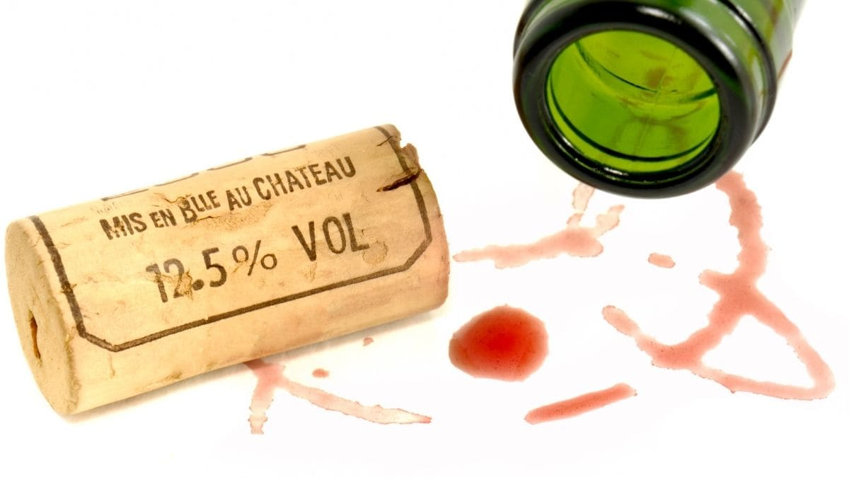 Remedios para quitar manchas de vino tinto.