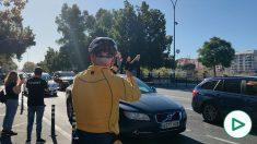 Sevilla se echa a la calle contra la 'Ley Celaá': más de una hora de caravana por la «libertad».