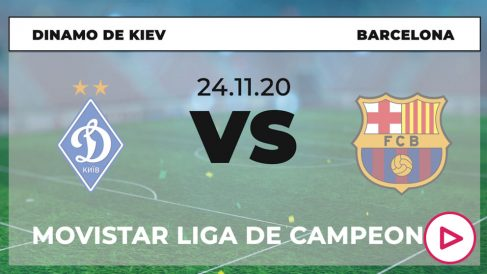 Dinamo de Kiev – Barcelona: hora y dónde ver el partido de Champions League hoy por TV en directo.