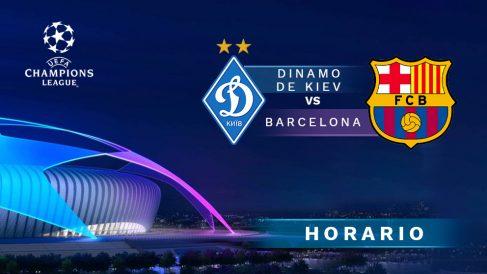 Dinamo de Kiev – Barcelona: jornada 4 de la Champions League.
