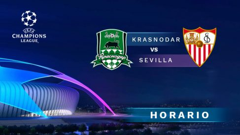 Krasnodar – Sevilla: jornada 4 de la fase de grupos de la Champions League