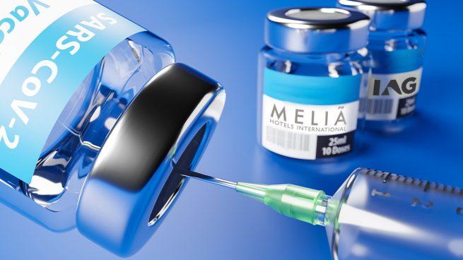 Meliá e IAG están recuperando posiciones en Bolsa.