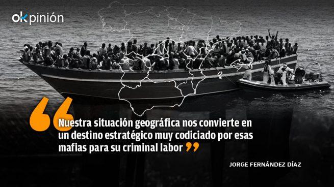 La inmigración irregular: compartida con la UE y cuestión de Estado