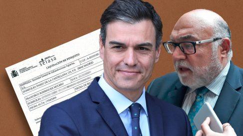 Pedro Sánchez, presidente del Gobierno, y Francisco Rodríguez Mulero (Seiasa).