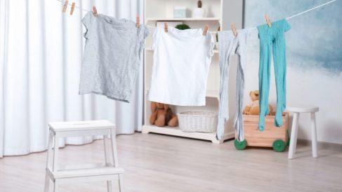 En época de frío la ropa tarda más en secarse